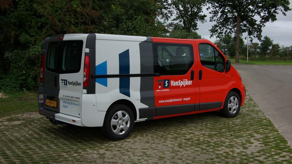 Jurjens | carwrapping VanSpijker Bouw